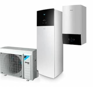 TC daikin altherma 3 bluevolution